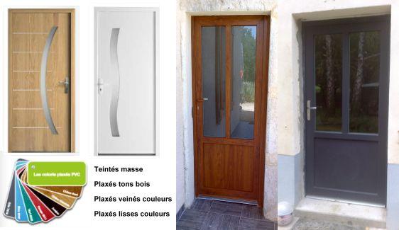 Portes D'Entrée En Bois, Aluminium, Pvc - Pose En Neuf Et Rénovation